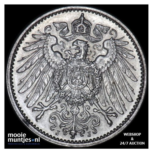 mark - Germany 1914 J (KM 14) (kant B)