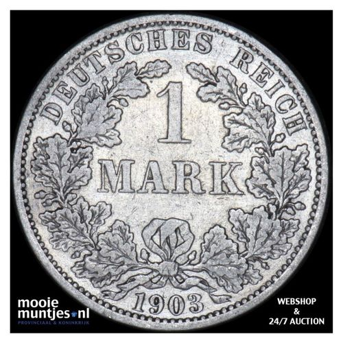 mark - Germany 1903 A (KM 14) (kant A)