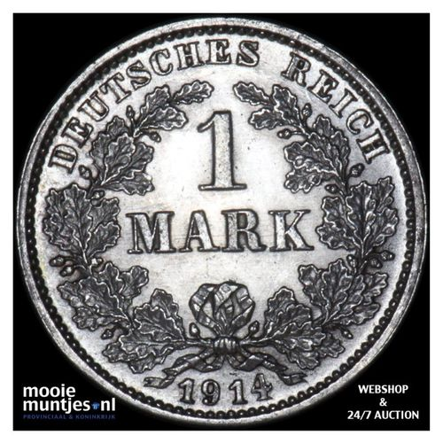 mark - Germany 1914 G (KM 14) (kant A)