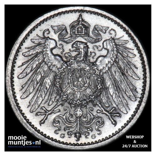 mark - Germany 1914 G (KM 14) (kant B)