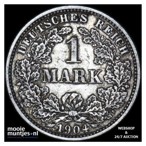 mark - Germany 1904 E (KM 14) (kant A)