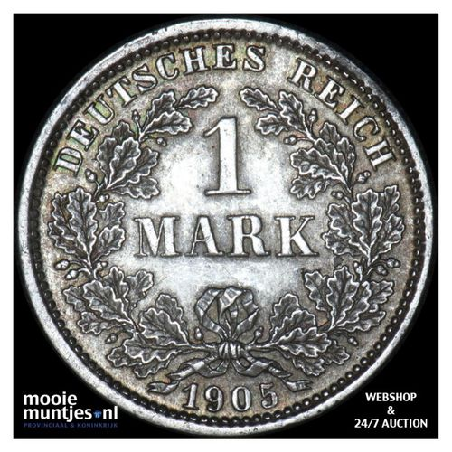 mark - Germany 1905 D (KM 14) (kant A)