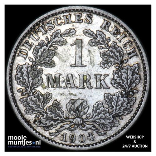 mark - Germany 1904 G (KM 14) (kant A)