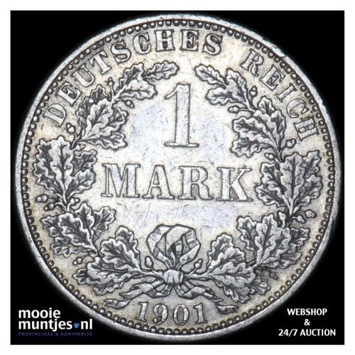 mark - Germany 1901 A (KM 14) (kant A)