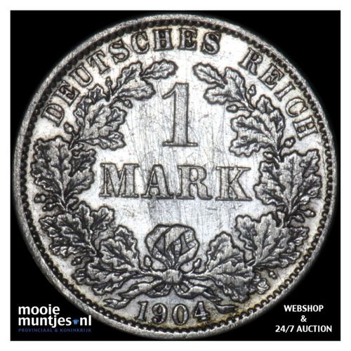mark - Germany 1904 A (KM 14) (kant A)