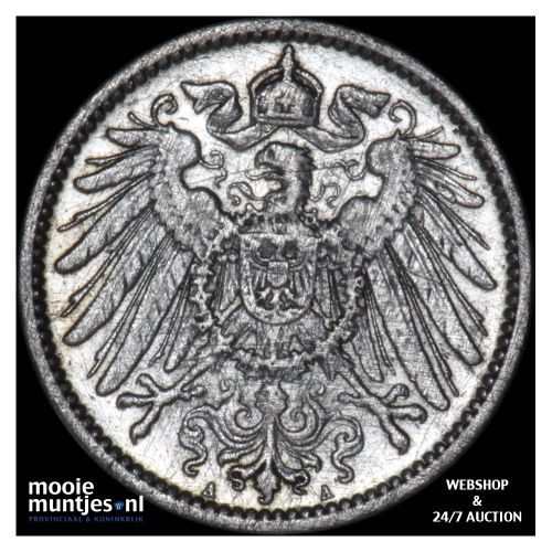 mark - Germany 1904 A (KM 14) (kant B)