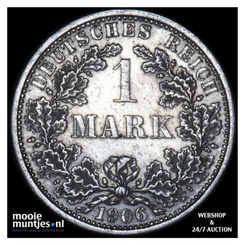 mark - Germany 1906 F (KM 14) (kant A)