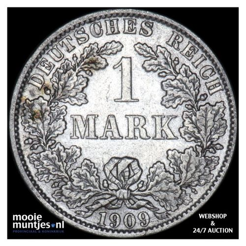 mark - Germany 1909 A (KM 14) (kant A)