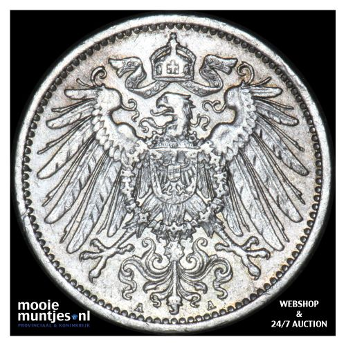 mark - Germany 1907 A (KM 14) (kant B)