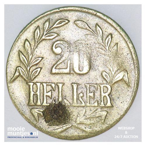 20 heller - German East Africa 1916 (KM 15a) (kant B)