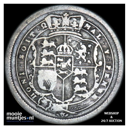 shilling - Great Britain 1817 (KM 666) (kant B)