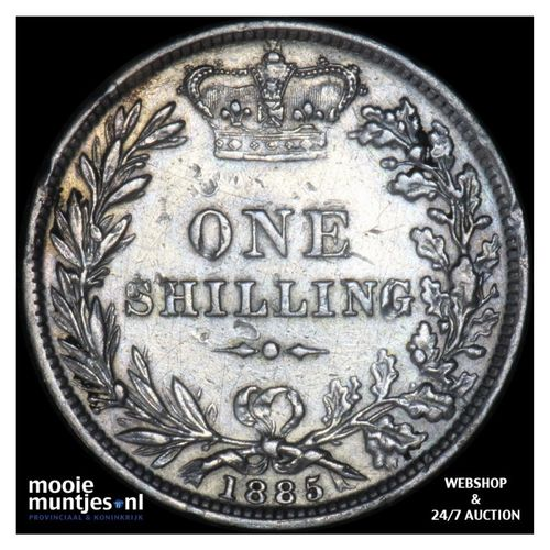 shilling - Great Britain 1885 (KM 734.4) (kant A)