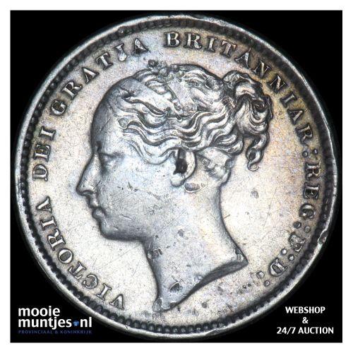 shilling - Great Britain 1885 (KM 734.4) (kant B)