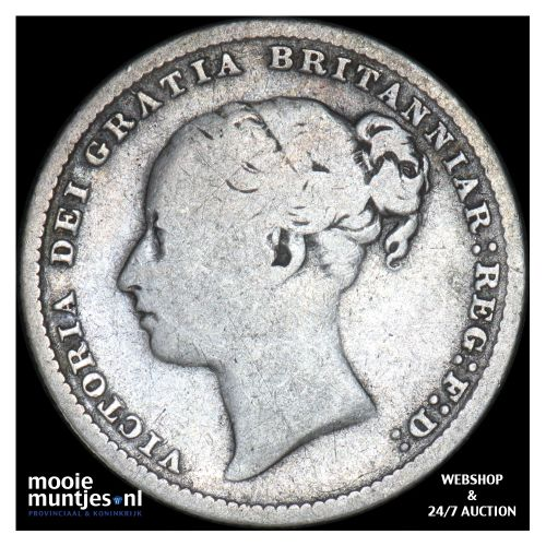 shilling - Great Britain 1886 (KM 734.4) (kant B)