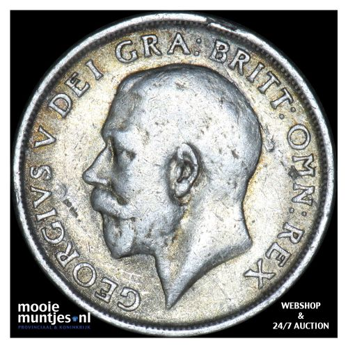 shilling - Great Britain 1917 (KM 816) (kant B)