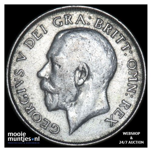 shilling - Great Britain 1923 (KM 816a) (kant B)