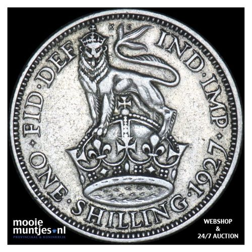 shilling - Great Britain 1927 (KM 833) (kant A)