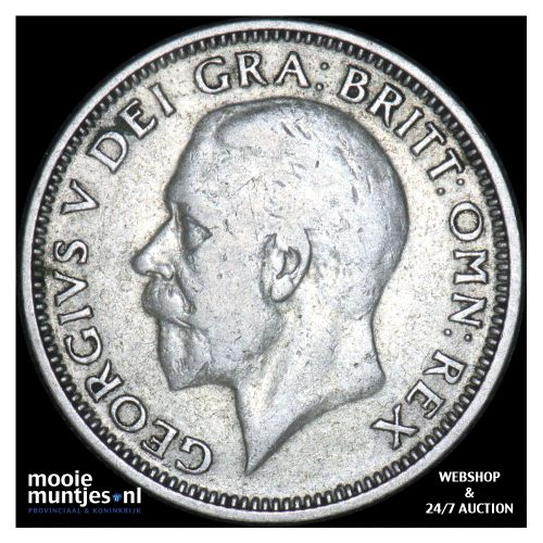 shilling - Great Britain 1927 (KM 833) (kant B)