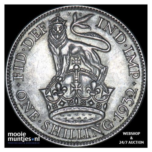 shilling - Great Britain 1932 (KM 833) (kant A)