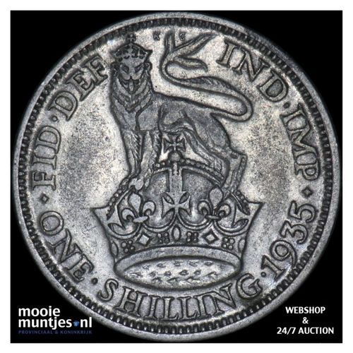shilling - Great Britain 1935 (KM 833) (kant A)