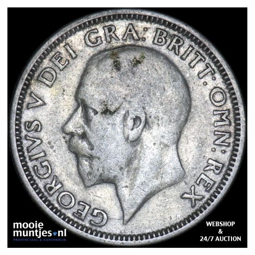 shilling - Great Britain 1935 (KM 833) (kant B)