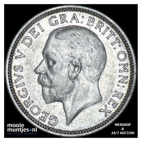 shilling - Great Britain 1936 (KM 833) (kant B)