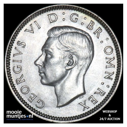 shilling - Great Britain 1937 (KM 853) (kant B)