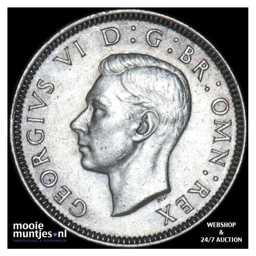 shilling - Great Britain 1939 (KM 853) (kant B)