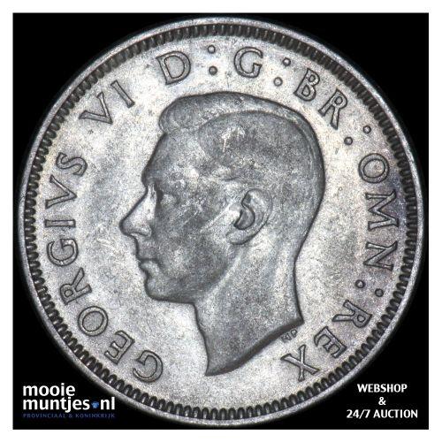 shilling - Great Britain 1940 (KM 853) (kant B)