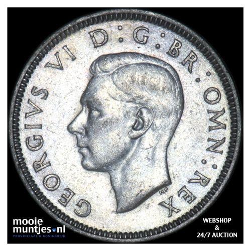 shilling - Great Britain 1939 (KM 854) (kant B)