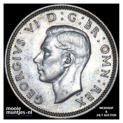 shilling - Great Britain 1940 (KM 854) (kant B)