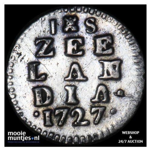 Zeeland - Stuiver - 1727 (kant A)