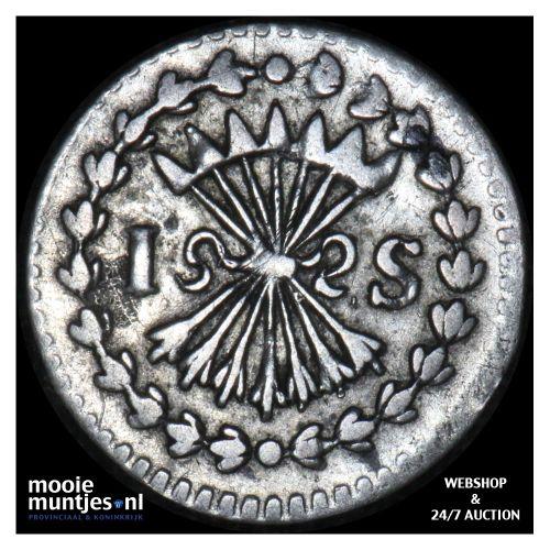 Zeeland - Pijl- of bezemstuiver - 1739 (kant B)