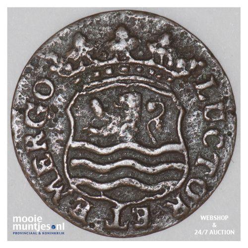 Zeeland - Duit - 1753 (kant B)