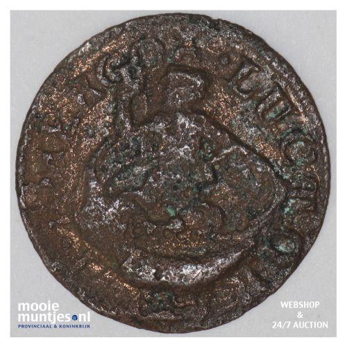 Zeeland - Duit - 1686 (kant B)