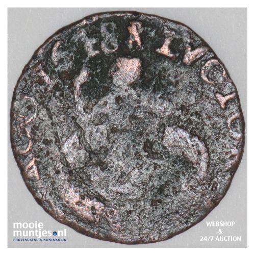 Zeeland - Duit - 1648 (kant B)