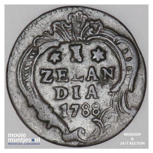 Zeeland - Duit - 1788 (kant A)