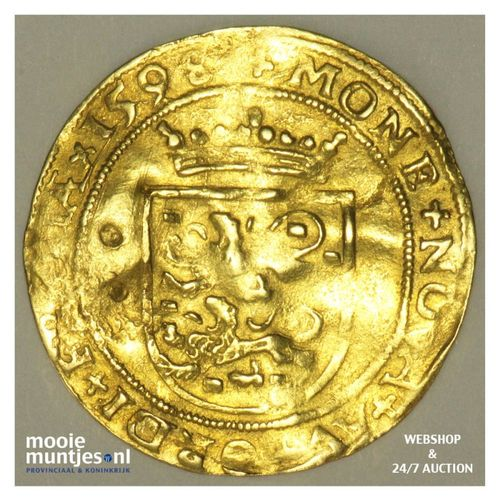 Friesland - Gouden Friese rijder - 1598 (kant A)