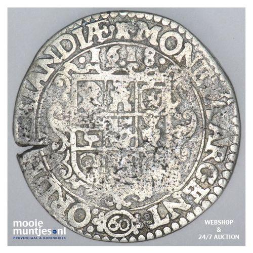 Zeeland - Arendsdaalder van 60 groot - 1618 (kant A)