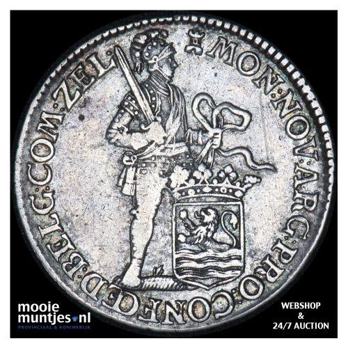 Zeeland - Halve zilveren dukaat - 1775 (kant B)