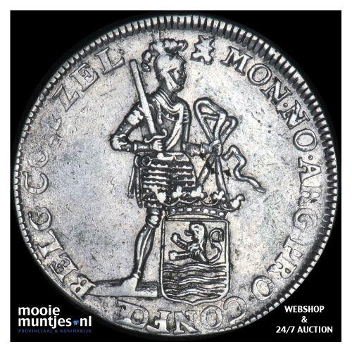 Zeeland - Zilveren dukaat - 1757 (kant B)