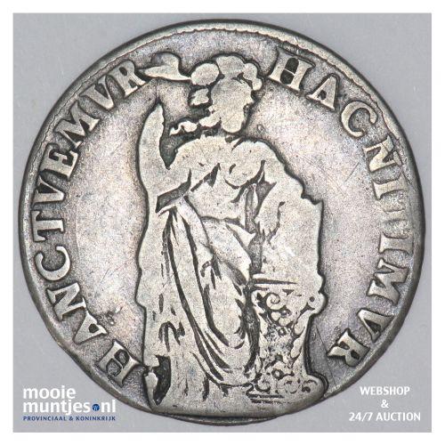 Zutphen - Stedelijke halve gulden - 1687 (kant B)
