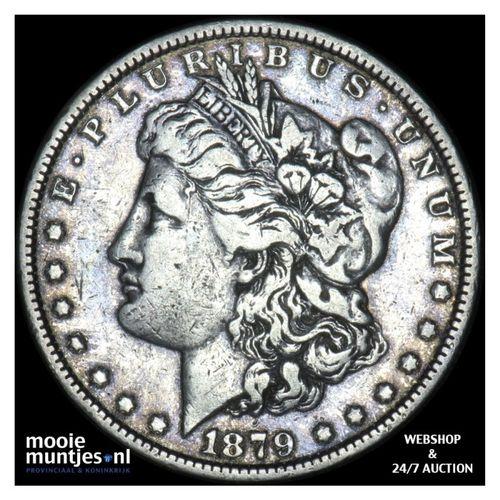 dollar - Morgan - United States of America/Circulation coinage 1879 (KM 110) (ka