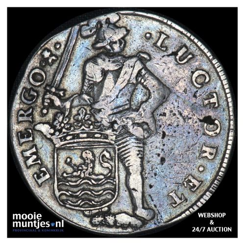 Zeeland - Dubbele daalder of 10 schelling - 1689 over 88 (kant B)