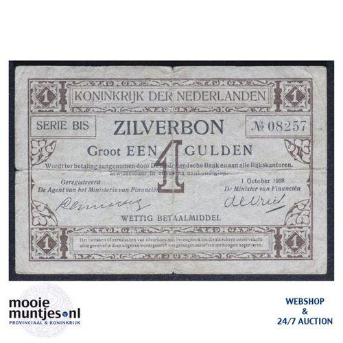 1 gulden - 1916 (Mev. 02-3 / AV 2) (kant A)