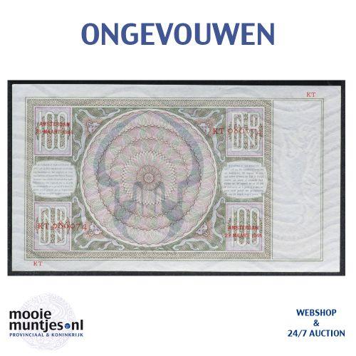 100 gulden - 1930 (Mev. 117-3 / AV 81) (kant B)