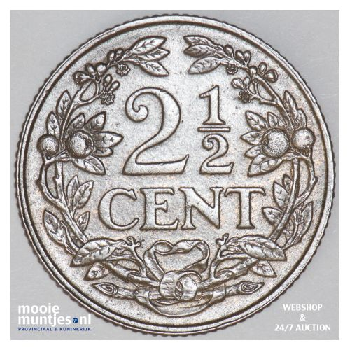 2½ cent - Wilhelmina - 1916 (kant B)