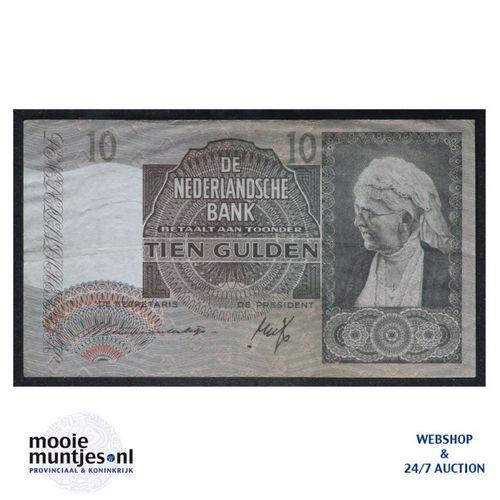 10 gulden  - 1940 (Mev. I 41-1 / AV 30) (kant A)