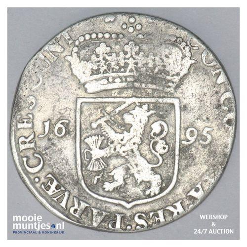 Zeeland - Zilveren dukaat - 1695 (kant A)