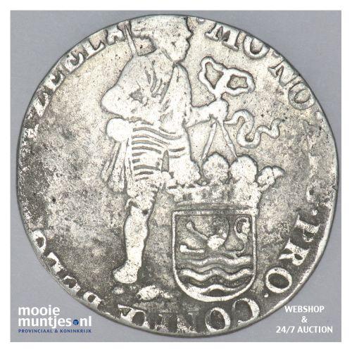 Zeeland - Zilveren dukaat - 1695 (kant B)